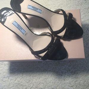Prada Shoes - PRADA VERNICE NERO NERO